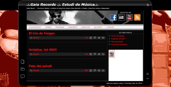 Novo site da JMT